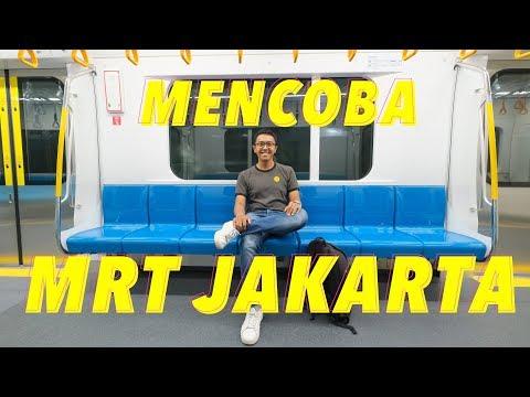 MRT JAKARTA DI UJI COBA PUBLIK | AKHIRNYA JAKARTA PUNYA MRT!
