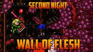 Terraria - Wall of Flesh on Second Night [Speedrun Challenge]