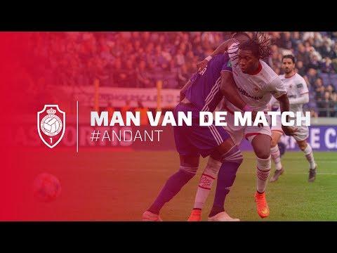 Man van de match #ANDANT I  Dieumerci Mbokani