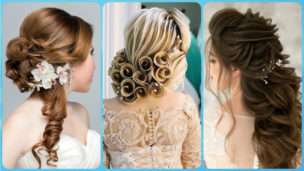 20 Idee Per Acconciature Per Matrimonio Capelli Ricci 2019 Youtube