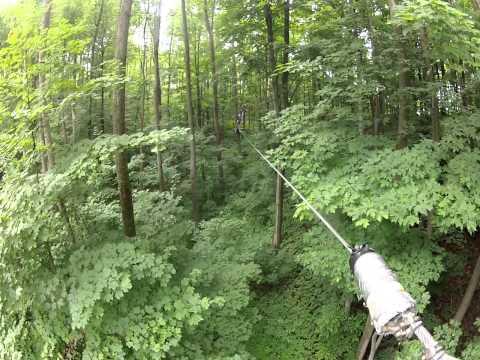 Treetop Trekking Horseshoe Valley Adventure Park (Red Course) Zip Line