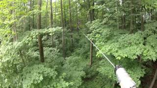 Treetop Trekking Horseshoe Valley Adventure Park (Red Course) Zip Line