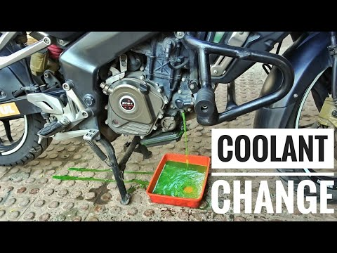 How-To: Change Motorcycle Coolant   Liquid Cooled System Explained