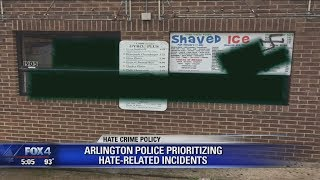 Arlington Police prioritizing hate related incidents