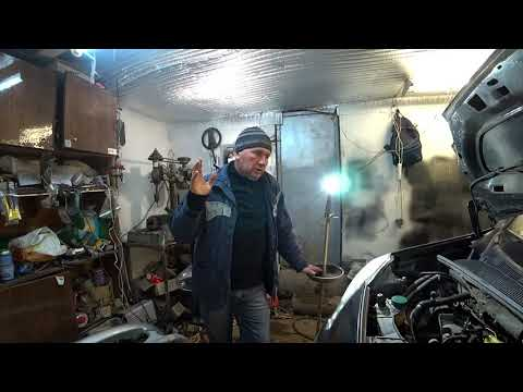 Плохо заводится двигатель на холодную, перелив   рено логан, канго, симбол