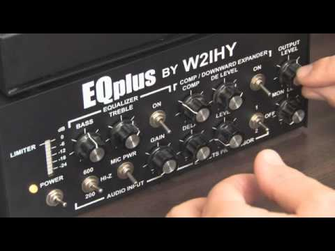 W2IHY 8 Band EQ and EQPlus Review