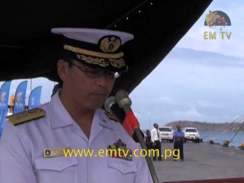 Japan Maritime Self-Defence Force Visits PNG