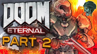 "DOOM Eternal - Part 2 ""Fortress of Doom"" (Gameplay/Walkthrough)"
