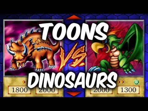 Yugioh TOONS vs DINOSAURS (Yu-gi-oh Duelist Kingdom) |