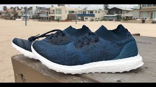 0e9a21f2b00 Parley x adidas Ultra Boost Uncaged Beach Unboxing ...