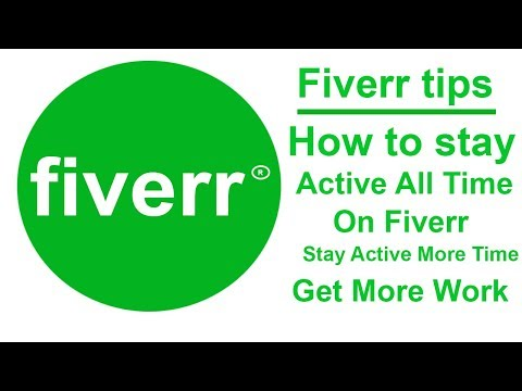 How to stay active all time in fiverr by using auto refresher