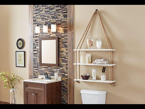 Diy Bathroom Decorating Ideas Youtube