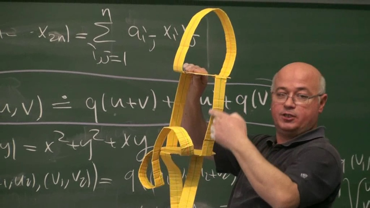 Arf Değişmezi Prof Dr Yıldıray Ozan Part 3 Youtube