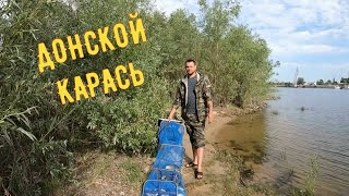 Рыбалка на реке Дон 2021г Активный весенний клев карася