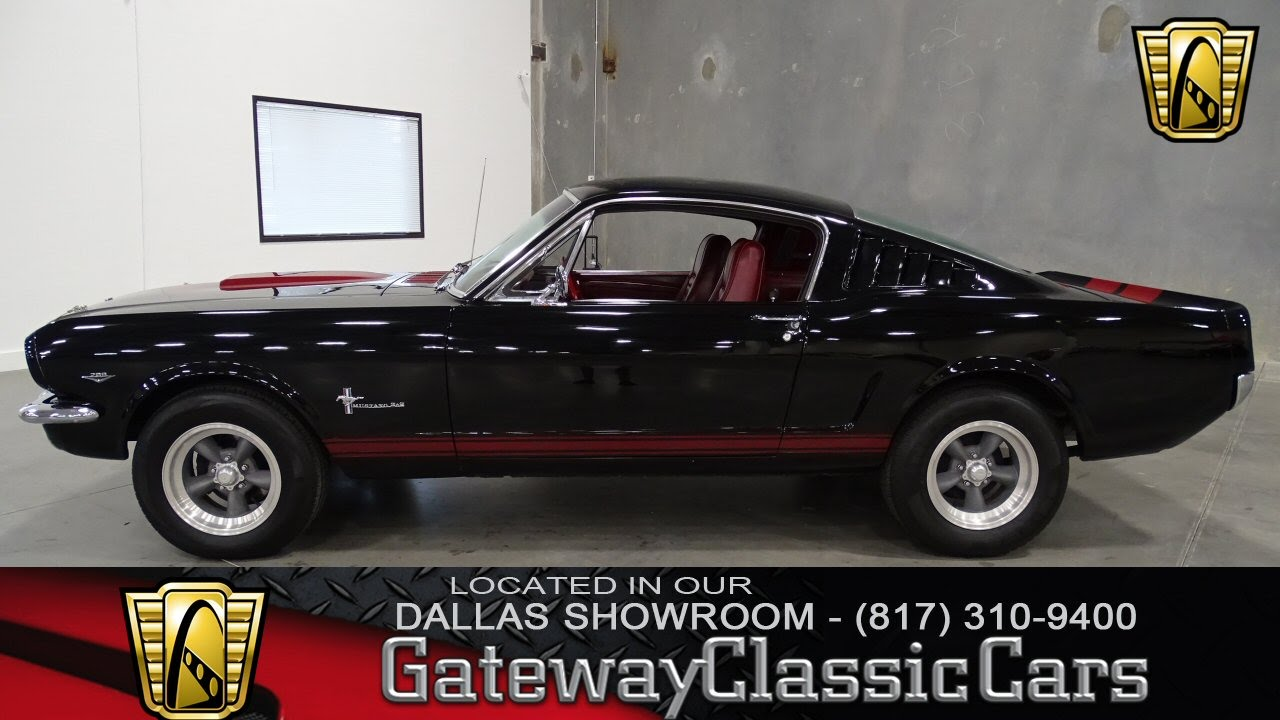 1965 Ford Mustang Fastback Stock #234 Gateway Classic Cars of Dallas ...