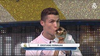 Cristiano Ronaldo, Club World Cup 2016 Golden Ball winner