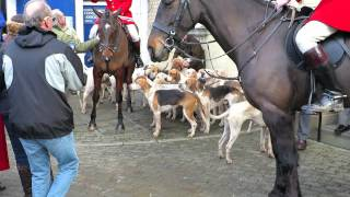 North Herefordshire Hunt Boxing Day 2013.