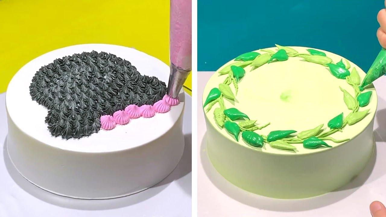 Fancy Cake Decorating Ideas Compilation | Most Satisfying Chocolate Cake Recipes | So Yummy Cake