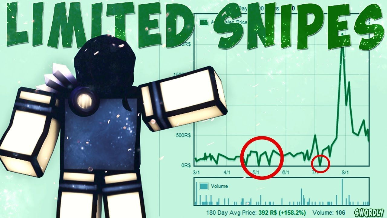 How To Limited Snipe Roblox By Lumber Universe