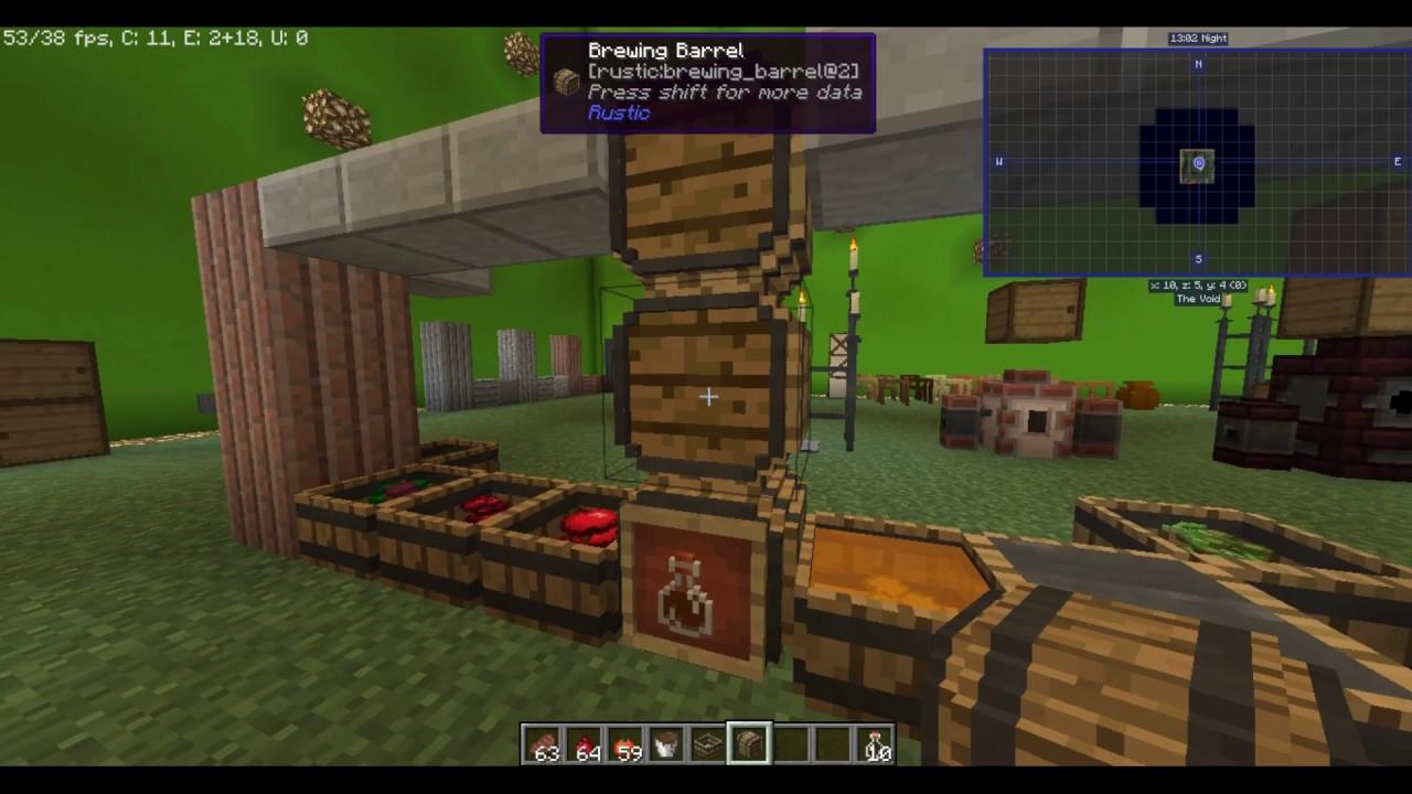 Bebidas y elixires en Minecraft | Rustic Mod Minecraft 1 12 2