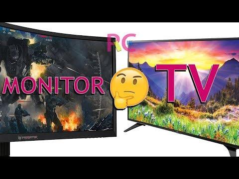 Kenapa Harus Pilih Monitor Dari Pada TV LED Untuk Sebuah Monitor PC? Ini Alasannya
