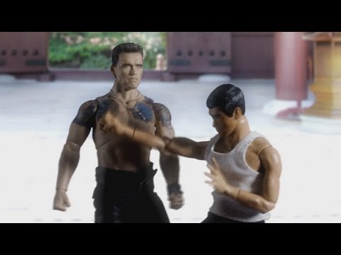 Bruce Lee VS Arnold Schwarzenegger《不是 toy story》/ Not a toy story ver 1.1