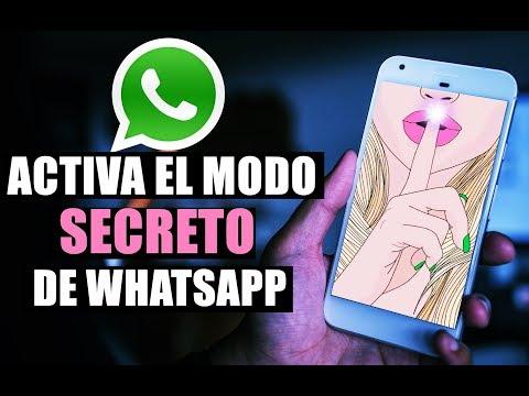 Activa el Modo Secreto de WhatsApp en Cualquier Telefono!!