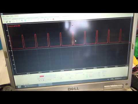 Ниссан Тиида не работает вентилятор отопителя. Проверяем осциллографом.