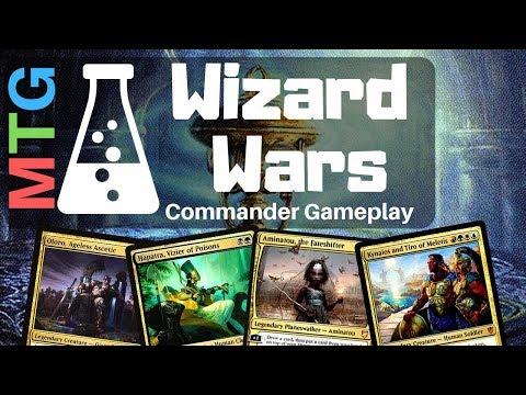 Wizard Wars #2 | EDH Commander Gameplay | March 1 2019