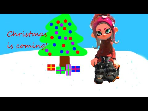 Christmas shopping but it's in Splatoon 2 and asmr