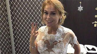 Эмоции невесты, свадебное платье