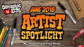 Artist Spotlight Top 25   June 2018