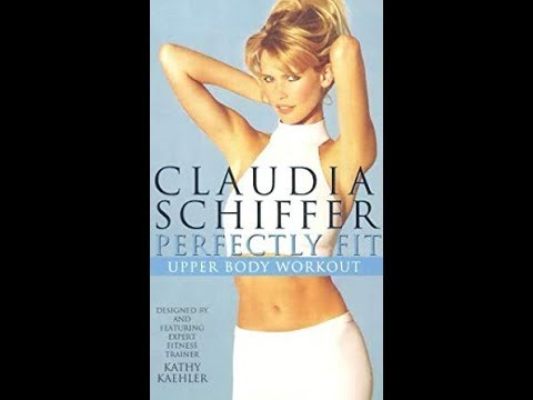 Claudia Schiffer: Perfectly Fit Upper Body Workout (1996 UK VHS)