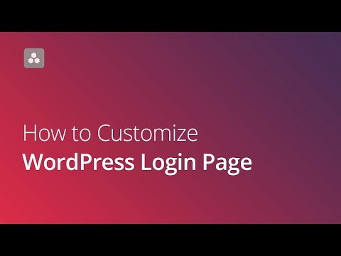 How to Customize WordPress Login Page - YellowPencil thumbnail
