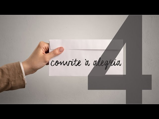 CONVITE À ALEGRIA - 4 de 4 - Alegria