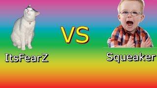 ItsFearZ vs Trash Talker on Fortnite (1v1)