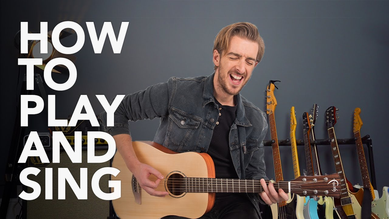 how to play guitar and sing at the same time youtube. Black Bedroom Furniture Sets. Home Design Ideas