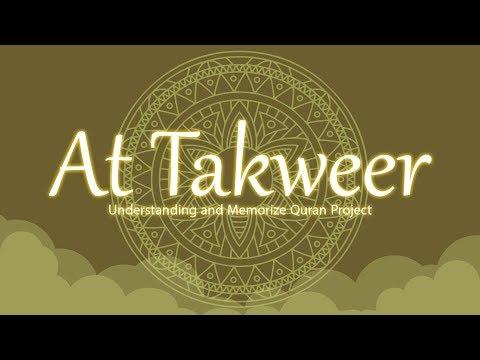 Surah Surah At-Takwir | English | Understand & Memorize Quran Project