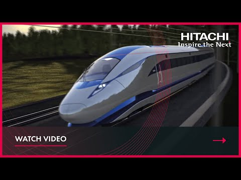 Hitachi Rail High Speed concept exterior