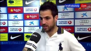 Cesc Fabregas Hat-trick | Barcelona vs Mallorca 5-0 Liga BBVA 06-04-2013