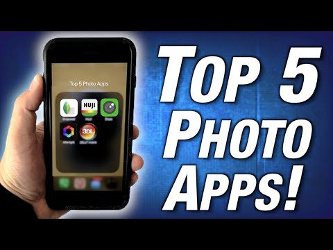 Top 5 Free IPhone Photo Apps! (2020)