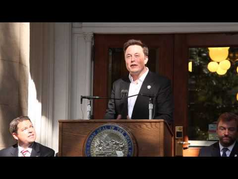Tesla Gigafactory Announcement
