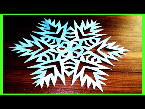 How To Make Beautiful 3D DIY Paper Snowflake | 3D Paper Snowflake Tutorial| ZINAT Crafts
