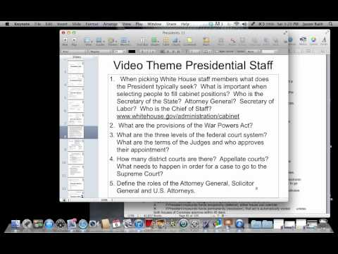 Presidents 2 (Federal Courts 1)