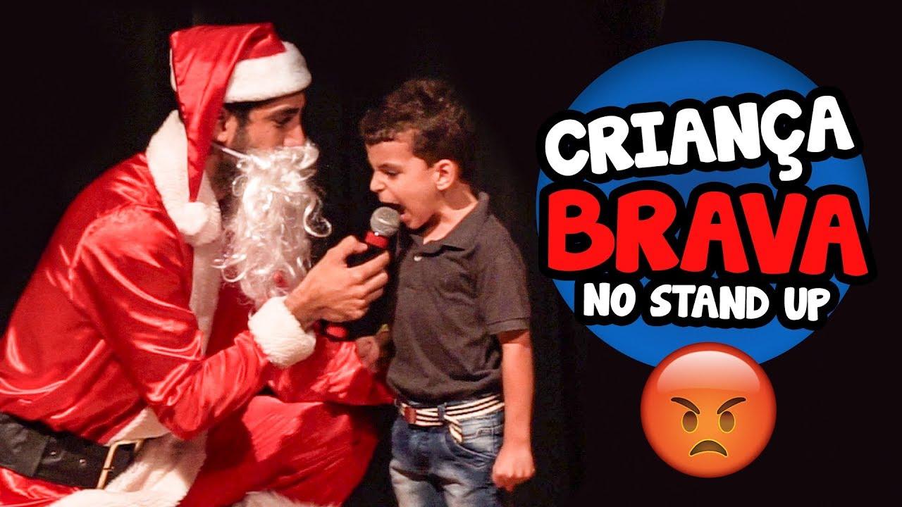 Criança Brava no Stand Up - JONATHAN NEMER (Especial de Natal)