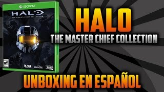 Halo The Master Chief Collection Unboxing en Español