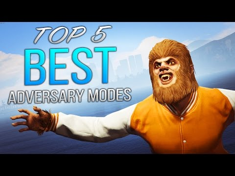 Top 5 Best Adversary Modes in GTA Online!