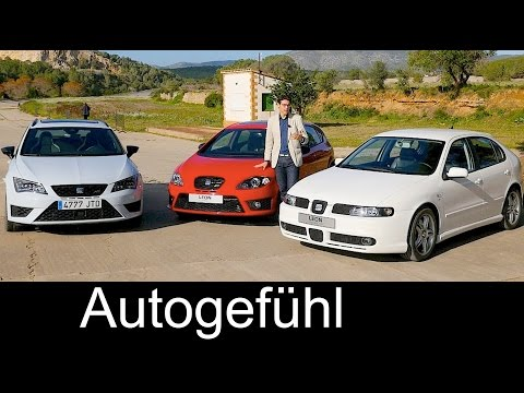 Seat Leon (Cupra) Generations I vs II vs III comparison REVIEW Vergleich & 3D Production insight