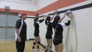Volleyball Setting Drill Wall Ball