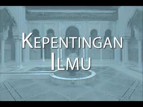 Kepentingan Ilmu (Malay)